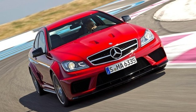 Report: Mercedes-Benz C63 AMG Coupe Black Series laps Nurburgring in 7:46