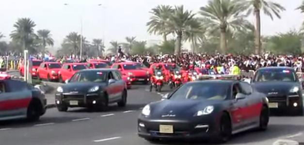 Porsche Police in Qatar
