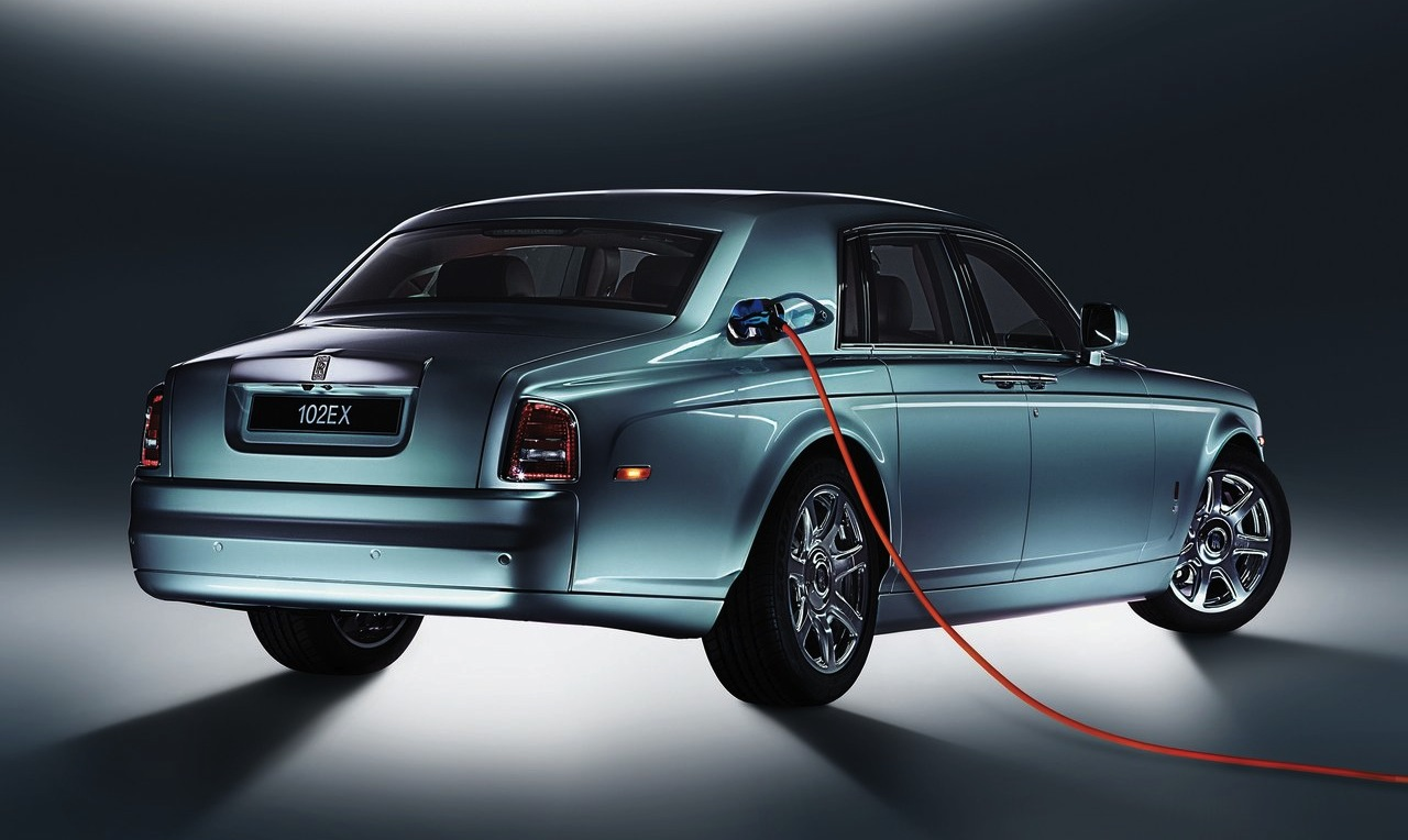 Rolls Royce 102EX Phantom Electric
