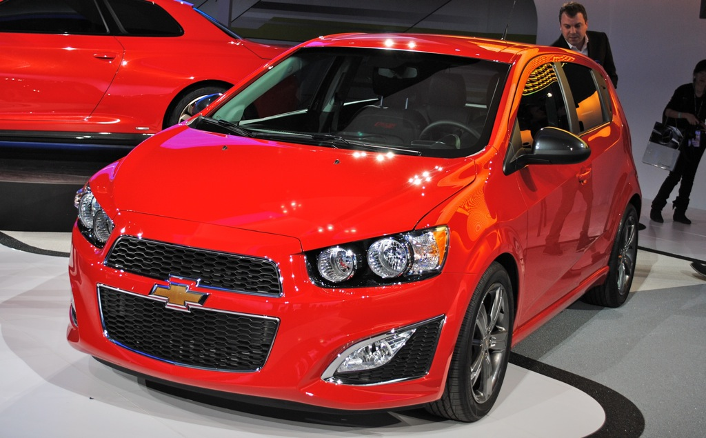 2012 Detroit: 2013 Chevrolet Sonic RS