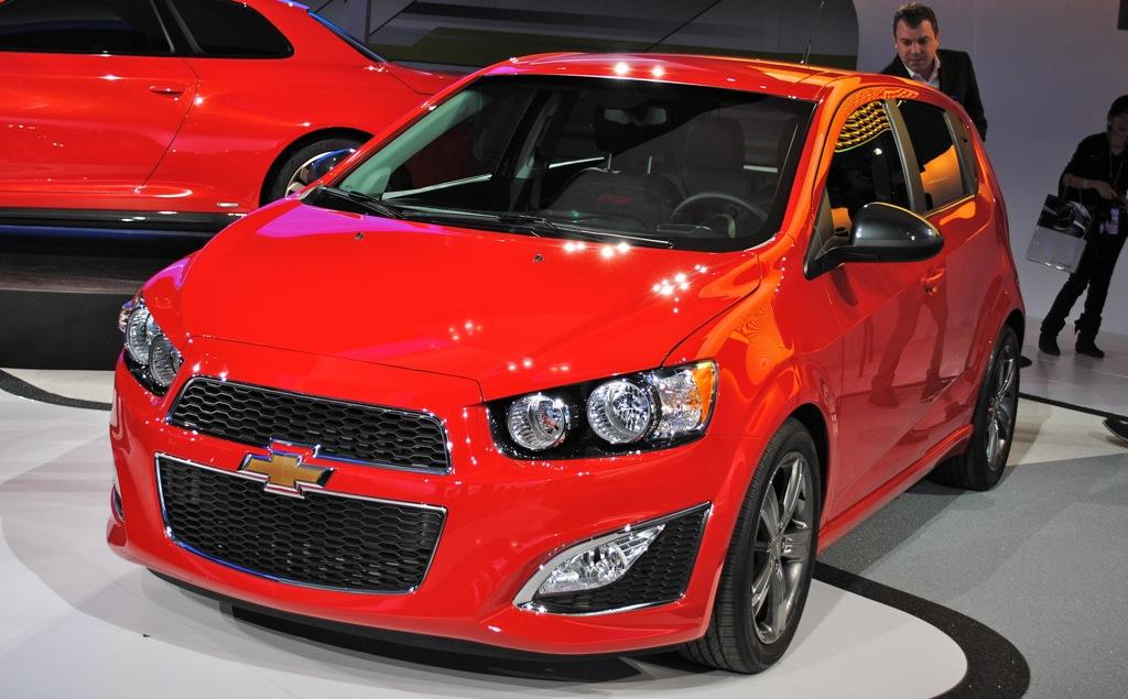 2012 Detroit: 2013 Chevrolet Sonic RS