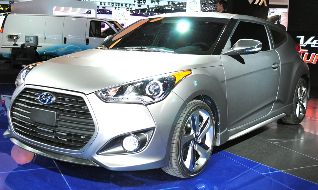 2012 Detroit: 2013 Hyundai Veloster