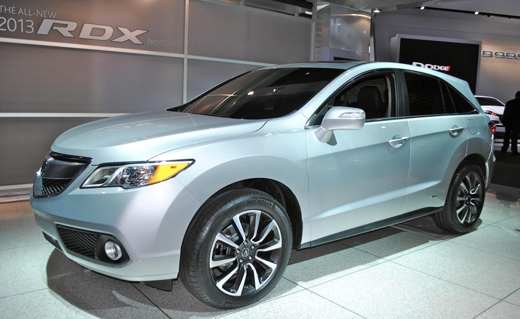 2012 Detroit: 2013 Acura RDX
