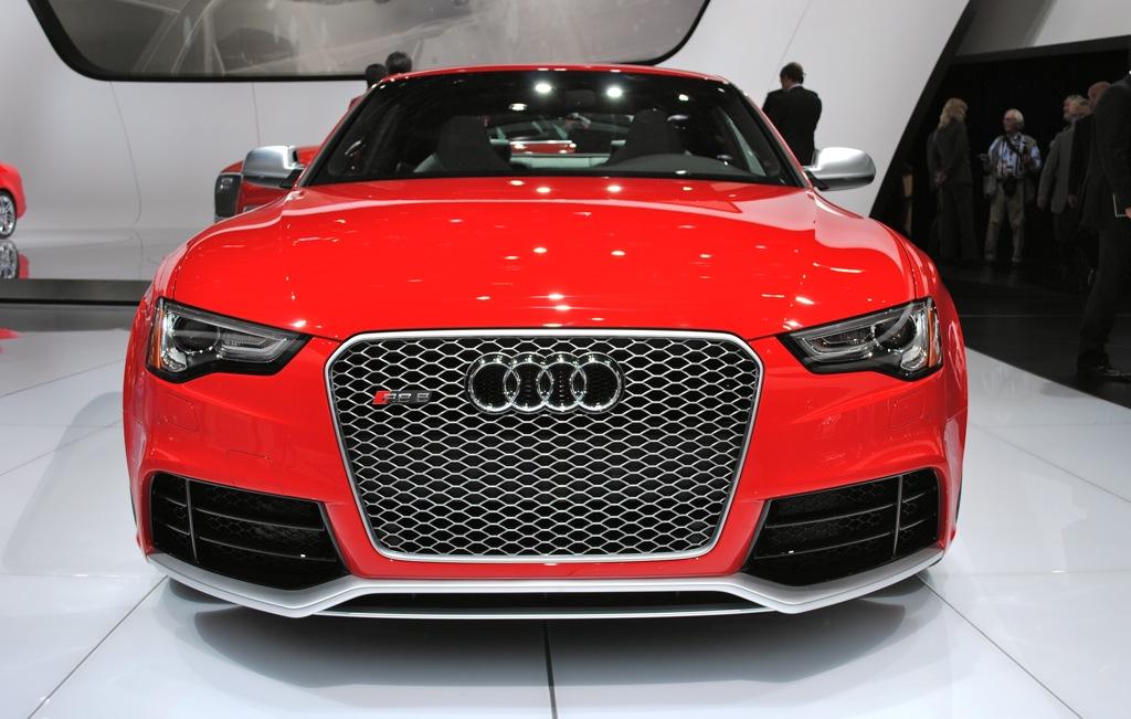 2012 Detroit: 2013 Audi RS5