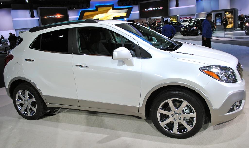 2012 Detroit: 2013 Buick Encore - egmCarTech
