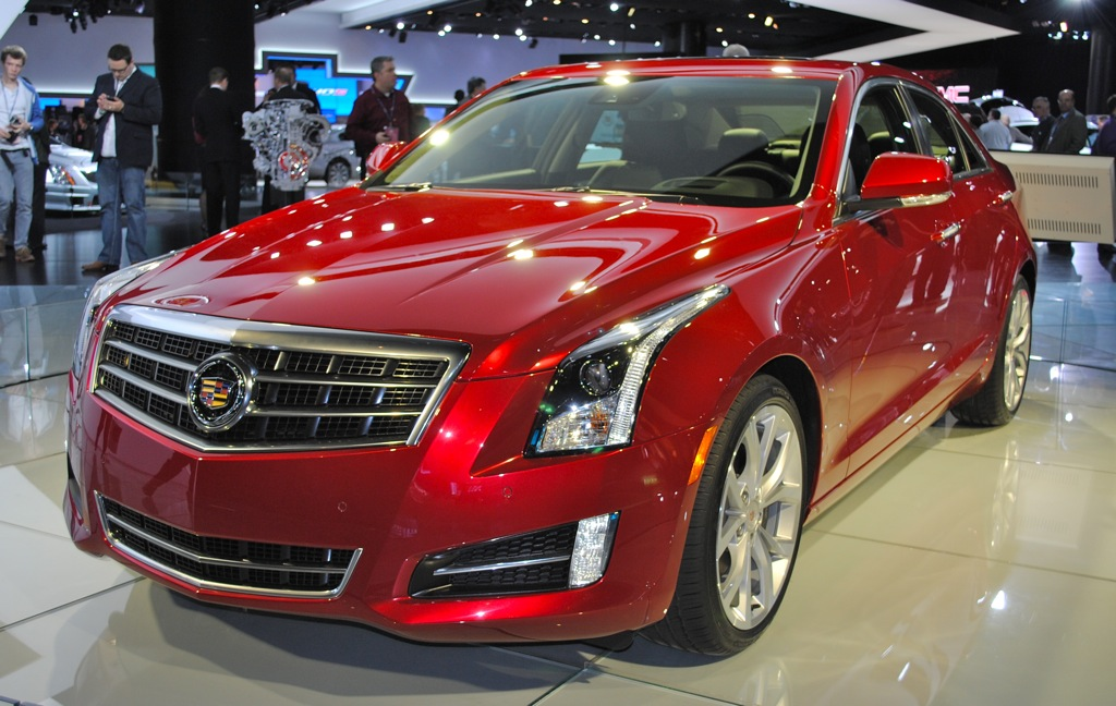 2012 detroit 2013 cadillac ats sedan redefines american luxury egmcartech. Black Bedroom Furniture Sets. Home Design Ideas