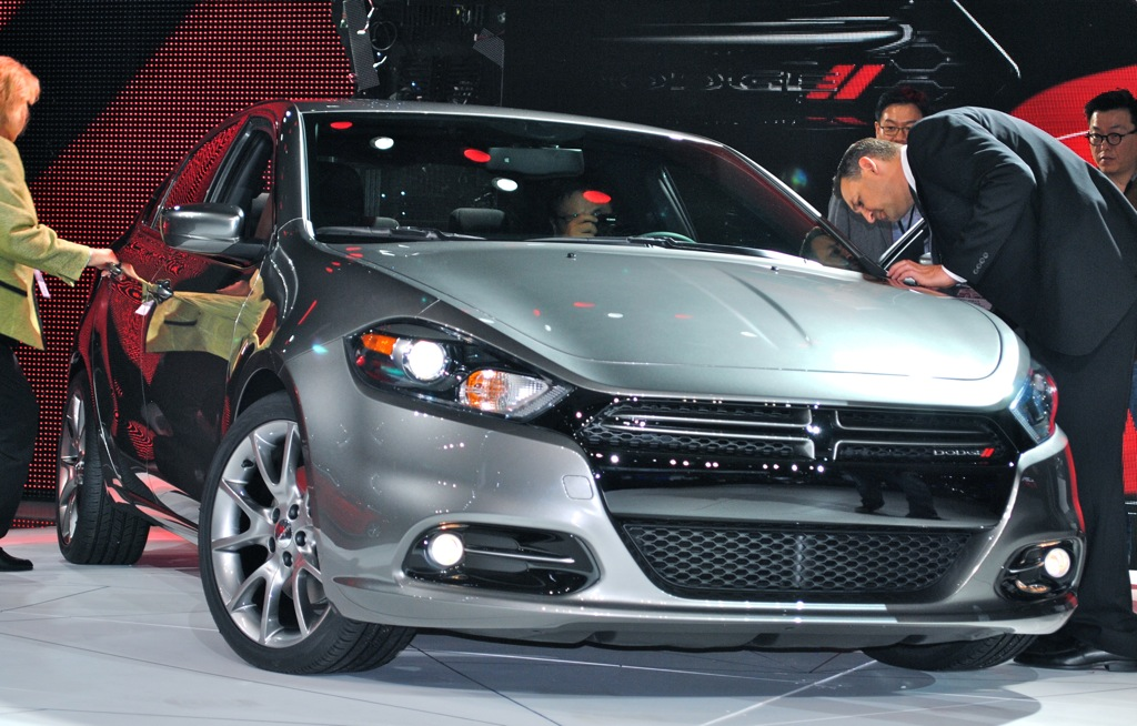 2012 Detroit: 2013 Dodge Dart