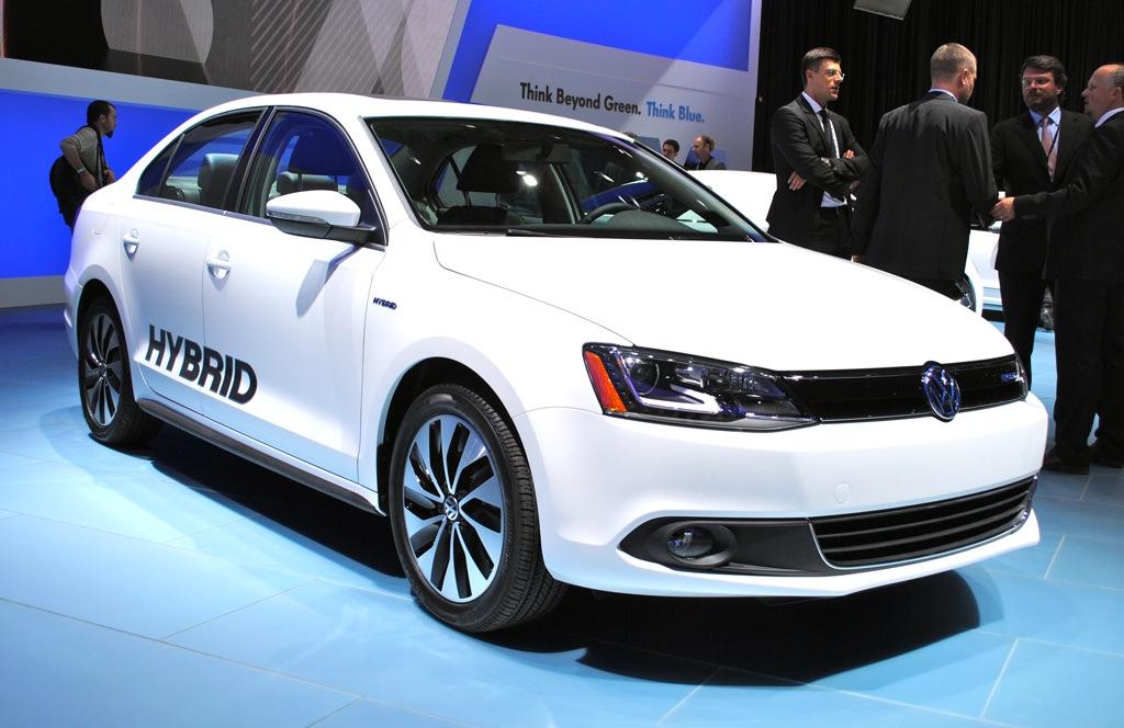 2012 Detroit: 2013 Volkswagen Jetta Hybrid