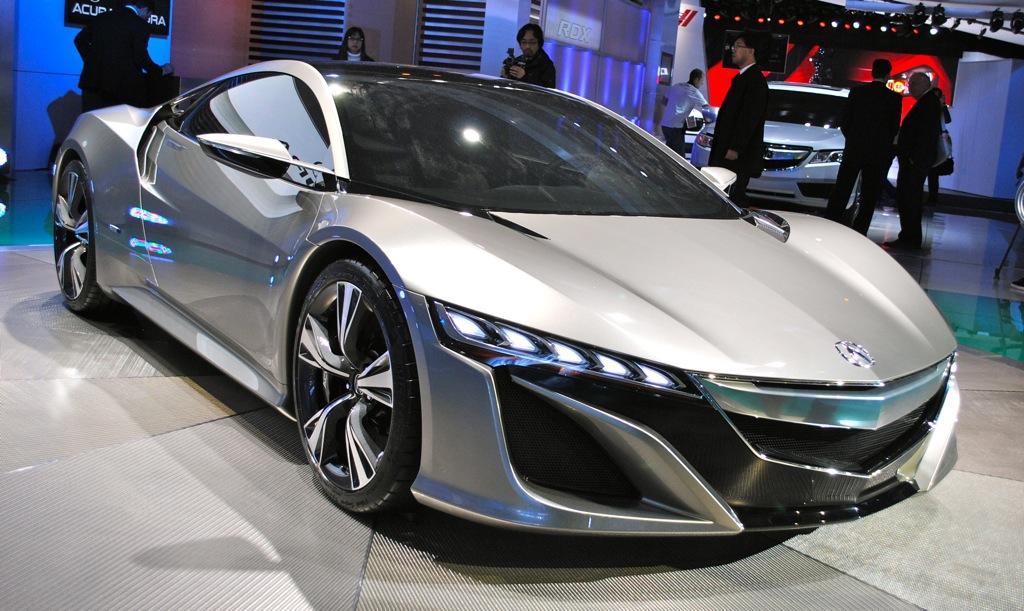 2012 Detroit: Acura NSX Concept