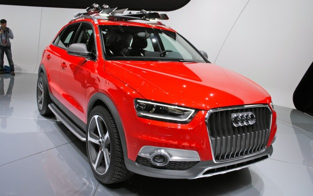 2012 Detroit: Audi Q3 Vail Concept