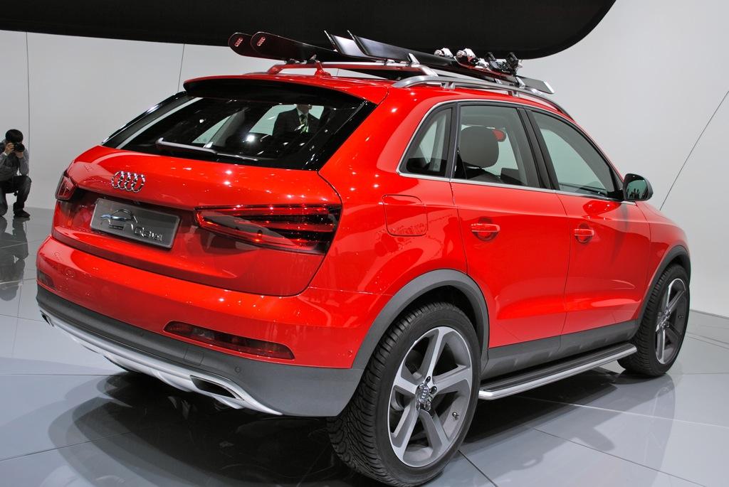 2012 Detroit Audi Q3 Vail Concept Egmcartech