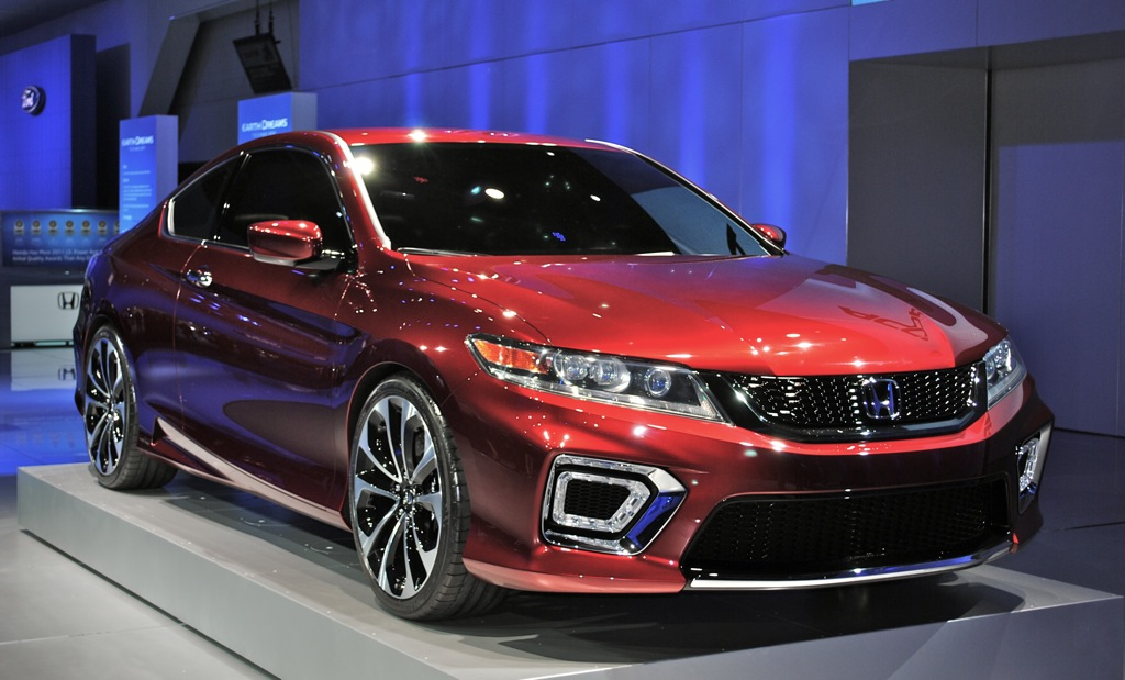 2012 detroit honda accord coupe concept unveiled info on for Honda accord generations