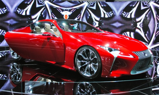 2012 Detroit: Lexus LF-LC Concept