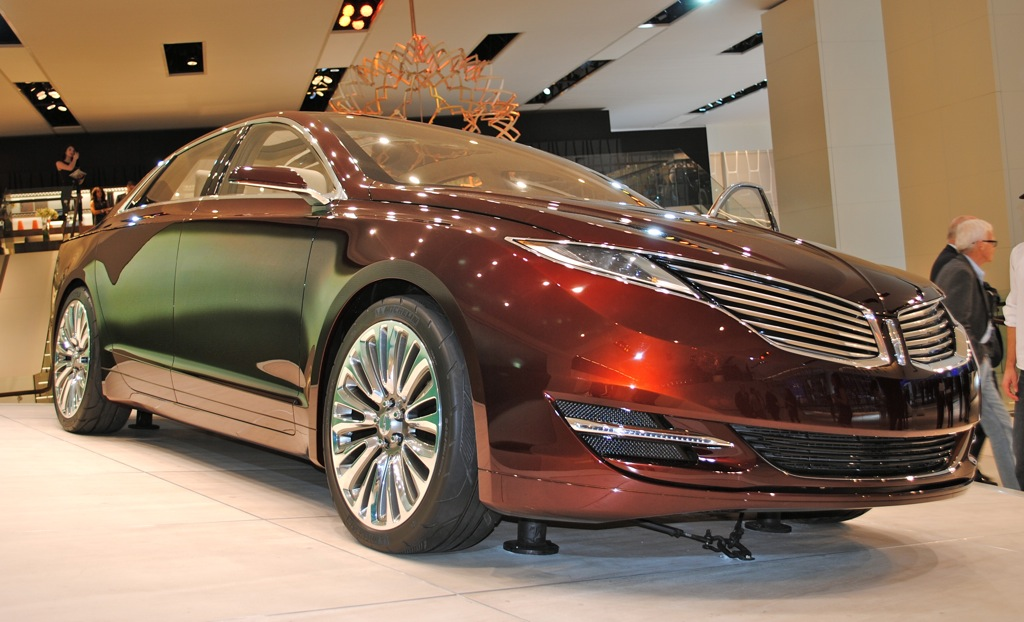 2012 Detroit: Lincoln MKZ Concept