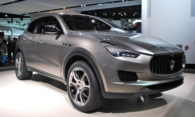 Report: Pre-production for the Maserati Levante begins, production model to debut at Detroit