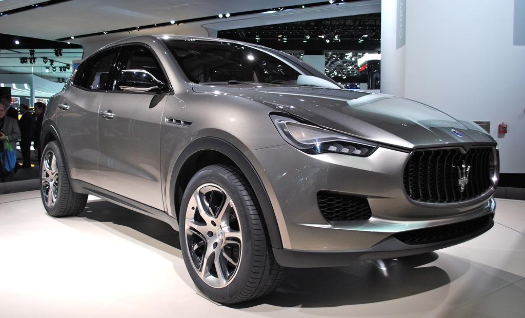 2012 Detroit: Maserati Kubang Concept