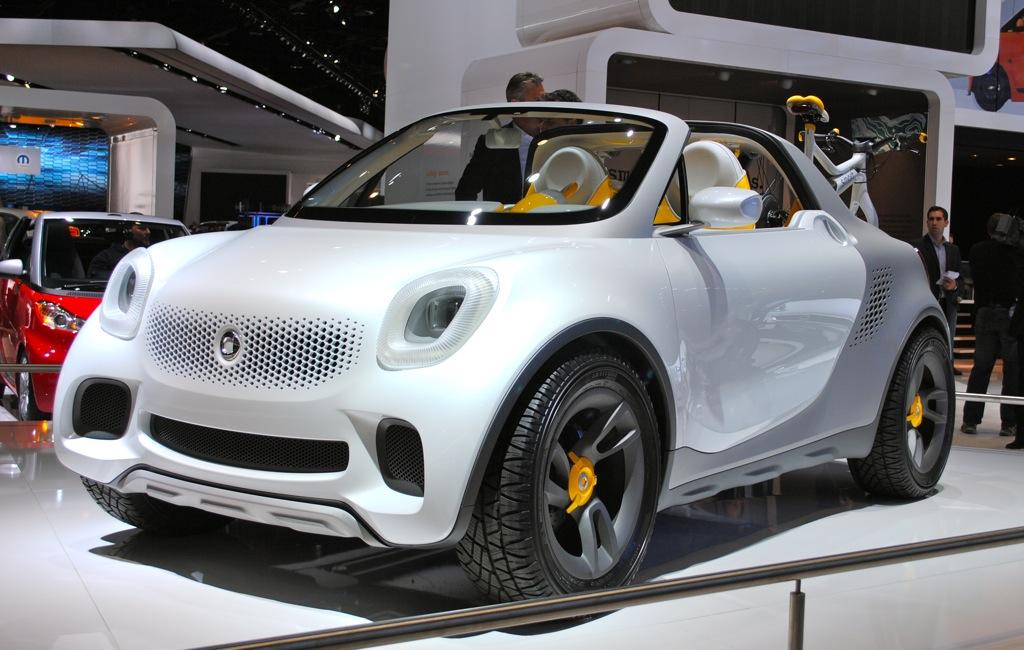 2012 Detroit: Smart For-Us Concept