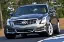 2013 Cadillac ATS (Silver) Front 3/4 View