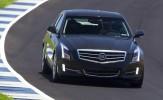 2013 Cadillac ATS (Black) Front View