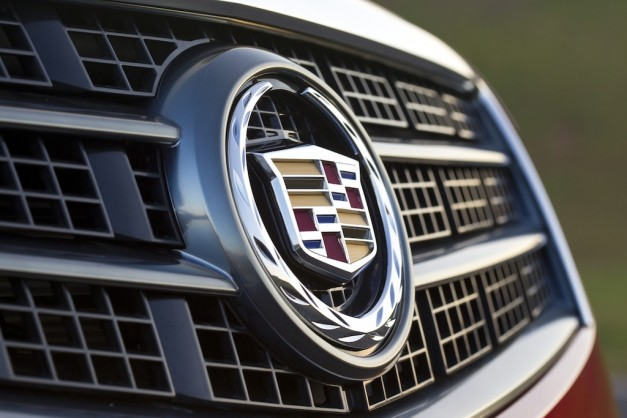2013 Cadillac ATS (Red) Grille