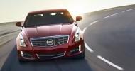 2013 Cadillac ATS (Red) Front Angle