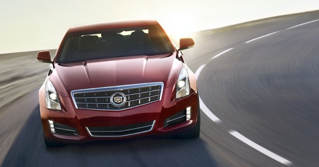 2013 Cadillac ATS (Red) Front Angle