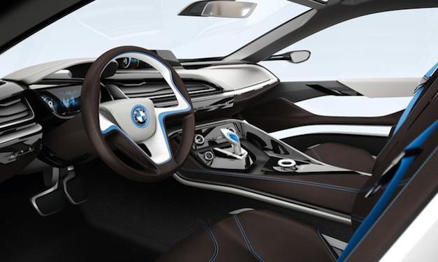 BMW i8 Concept Interior