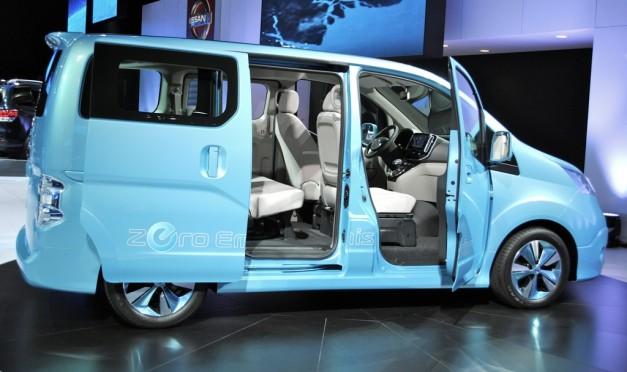 2012 Detroit: Nissan e-NV200 Concept