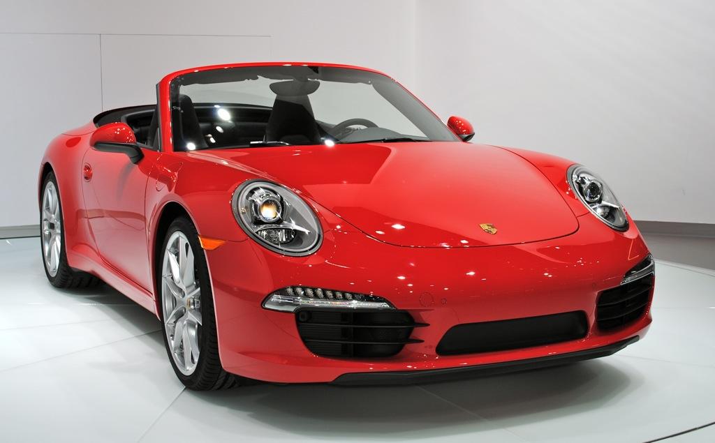 2012 Detroit: 2012 Porsche 911 Cabriolet