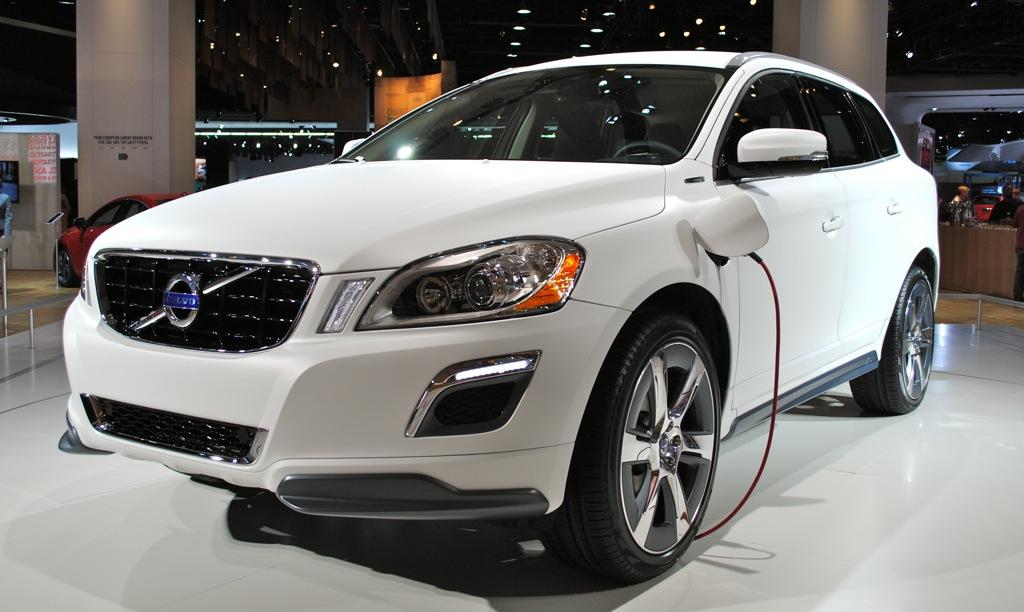 2012 Detroit: Volvo XC60 Plug-in Hybrid