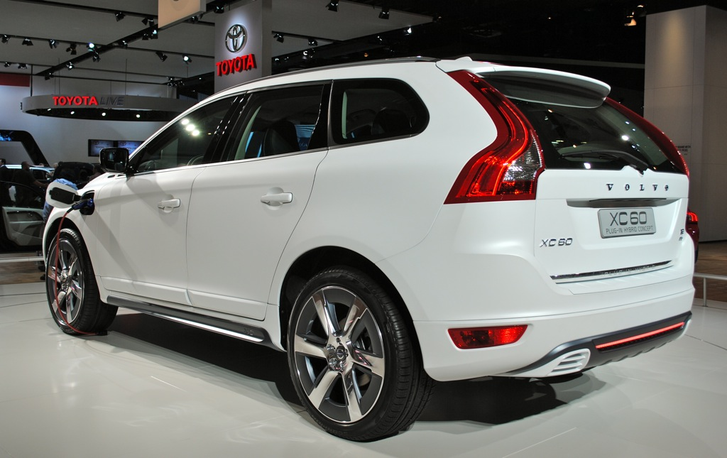 2012 detroit volvo xc60 plug in hybrid egmcartech. Black Bedroom Furniture Sets. Home Design Ideas