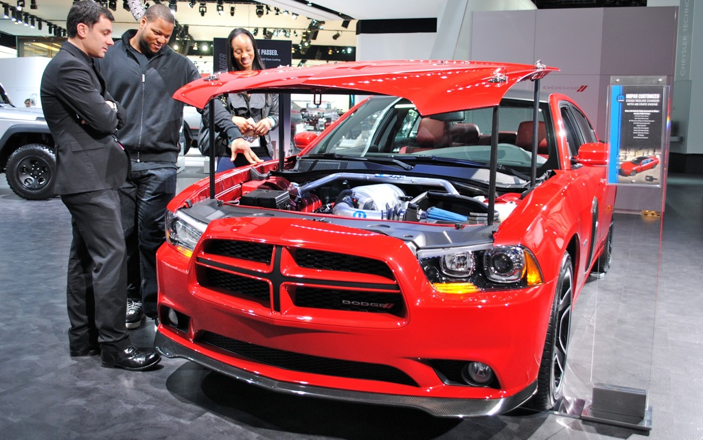 2012 Detroit: 2012 Dodge Charger Redline