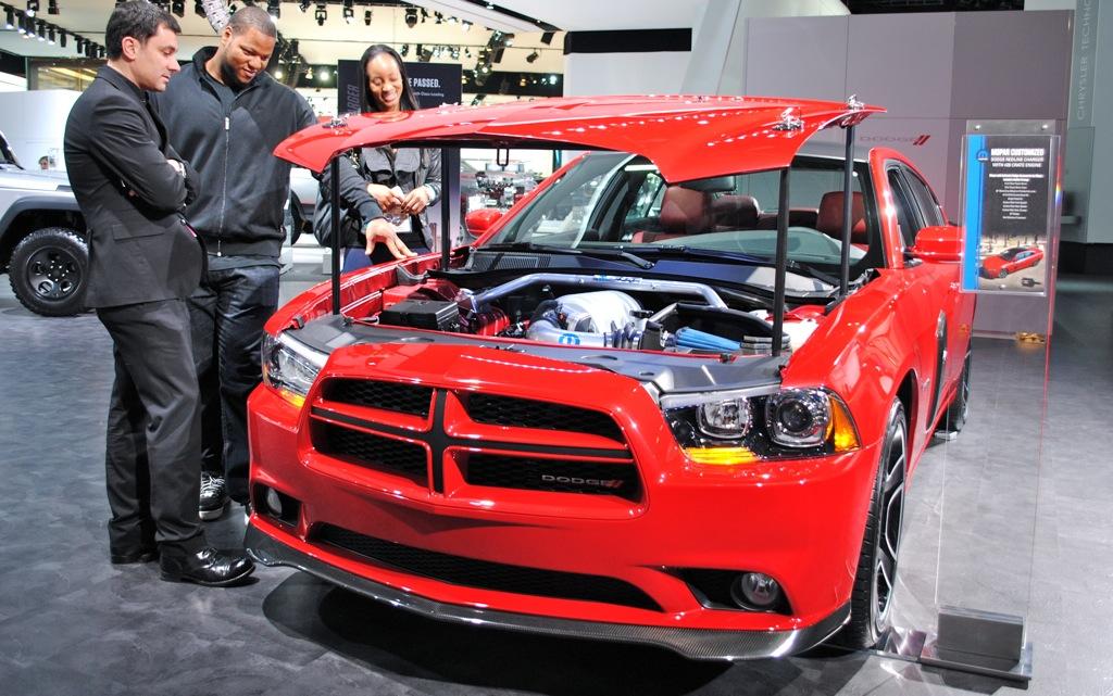 2012 Detroit: 2012 Dodge Charger Redline
