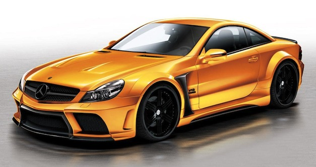 Veilside Mercedes-Benz SL65 AMG Black Series