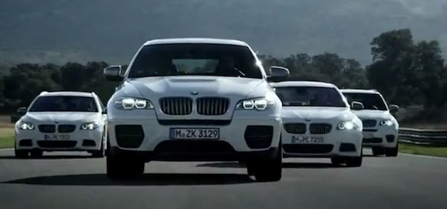 Video: BMW M Performance Automobiles diesels in Action