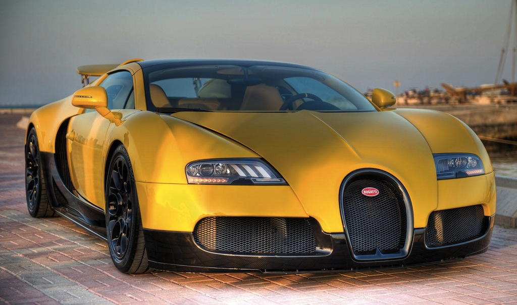 Bugatti Veyron Grand Sport Qatar Edition