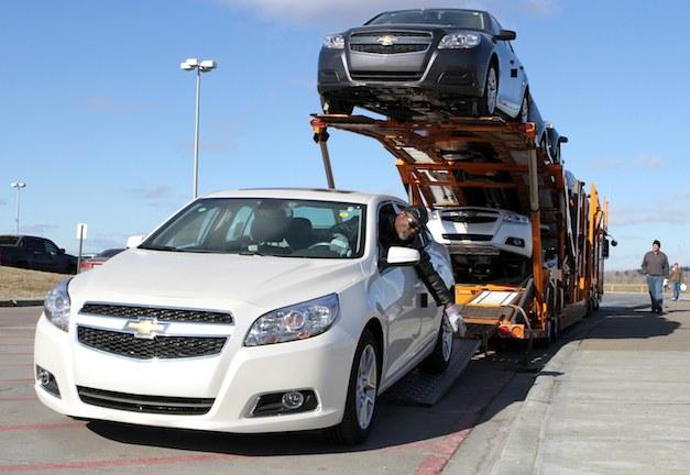 2013 Chevrolet Malibu Eco Delivery