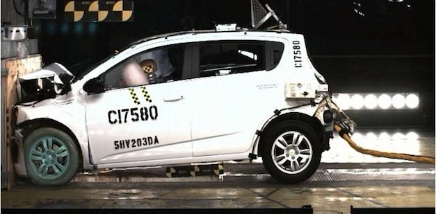Chevrolet Sonic Crash Test