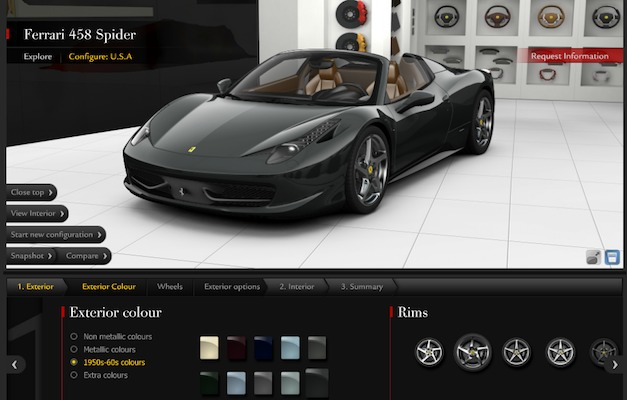 Build Your Own Ferrari. build your own ferrari 488 gtb here images