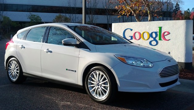 Ford Focus Electric Google