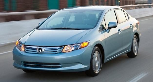 honda civic hybrid b Honda Civic Hybrid owners sue company over mpg outlook