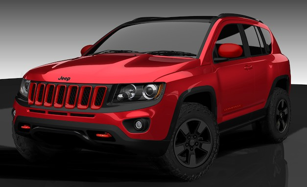 jeepcompasstruenorth Mopar Jeep Compass True North adds extra off roading capabilities