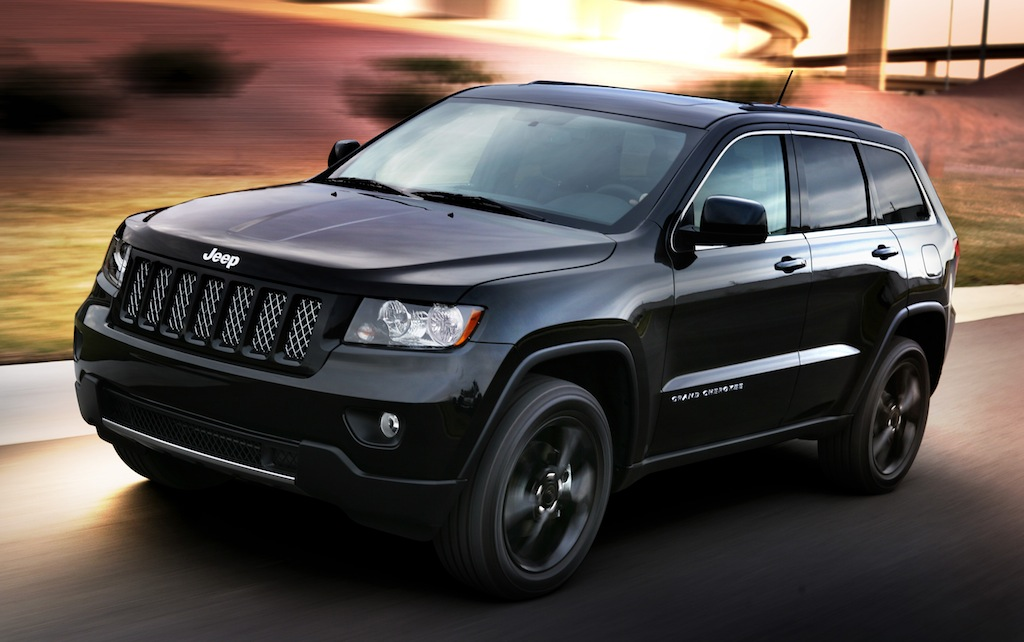 Blacked Out Jeep Grand Cherokee Concept