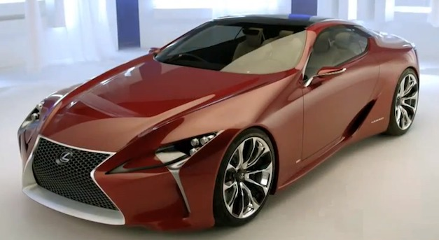 Video: A inside look at the Lexus LF-LC Concept
