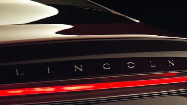 Lincoln MKZ Concept Teaser