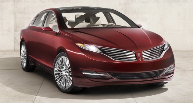 Lincoln MKZ Concept revealed, production model coming later this year