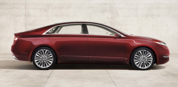2012 Lincoln MKZ Concept