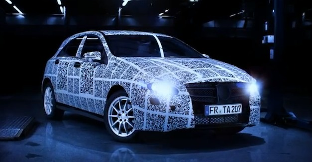 Video: Mercedes-Benz A-Class teased before Geneva debut