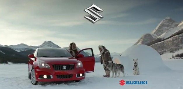 Suzuki Super Bowl XLVI Commercial
