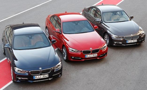 2012 BMW 3 Series Lineup